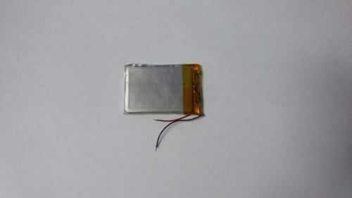 Bateria Gps Mp4 Mp3 Etc 3,7v 450mah 5mm X 3cm X 3cm