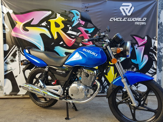 Moto Suzuki En 125 0km Ahora 12 Cycle World Llevala Ya 14/4