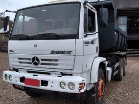 Mb 2423 6x4 (caçamba 2014) - Unico Dono