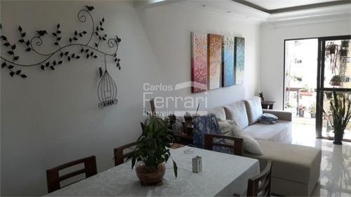 Imagem 1 de 15 de Apto 3 Dormitórios, Reformado + 3 Vagas De Garagem- Av Zumkeller - Mandaqui - Cf34826