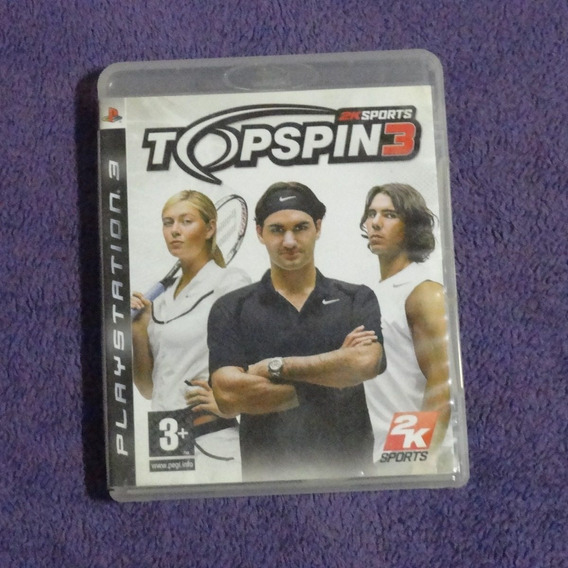 Game Top Spin 3 (ps3)