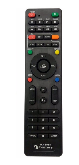 Controle Remoto Midia Box B1-b2-b3-c5-7100-7050.