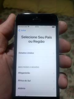 iPhone 5s Space Gray - Desbloqueado Em Otimo Estado
