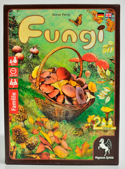 Fungi - A Savory Card Game For 2 Players Ages 10 And Up
