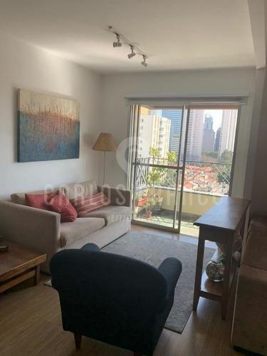 Imagem 1 de 15 de Apartamento Com 3 Dormitórios À Venda, 85 M² Por R$ 920.000 - Brooklin - São Paulo/sp - Cf69868