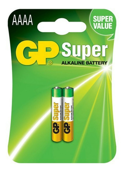 Bateria/pilha Aaaa 4a Gp 1,5 Volts - 02 Unidades Alcalinas