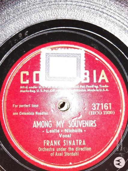 Disco Pasta Frank Sinatra Stordahl Orch Columbia C110