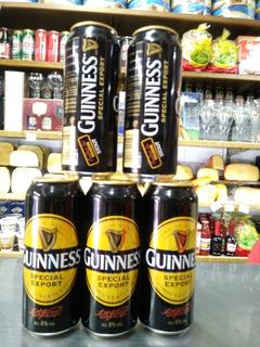 Cerveza Guinness Lata 1/2litro Irlandesa X3 Unidades