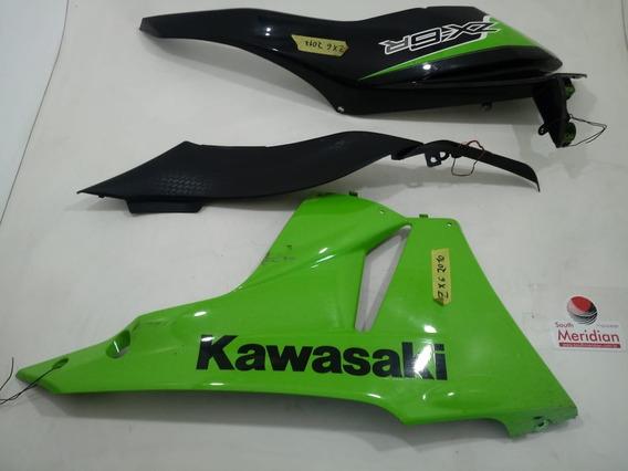 Kit Carenagem Acabamento Kawasaki Zx6 2011 2012 Recuperar