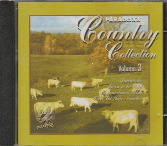 Cd Country Collection Vol 3 - Paradoxx - 1997