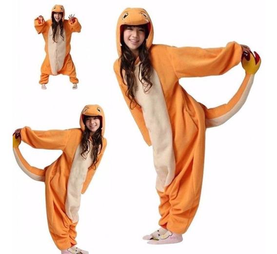 Pijama Disfraz Mameluco Charmander Pokemon Gotcha Xtreme