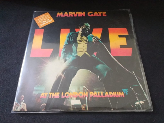 Lp-marvin Gaye-live-at The London Palladium-duplo-importado