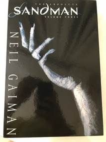 Absolute Sandman Volume 3 Deluxe Importando Novo Neil Gaiman