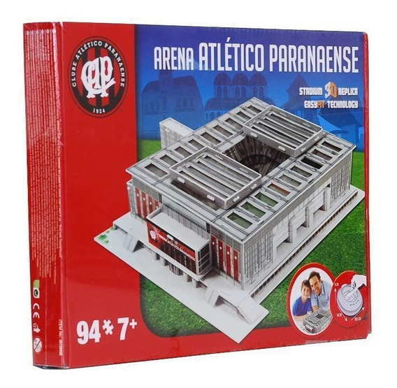 Maquete 3d Estádio Atlético Paranaense