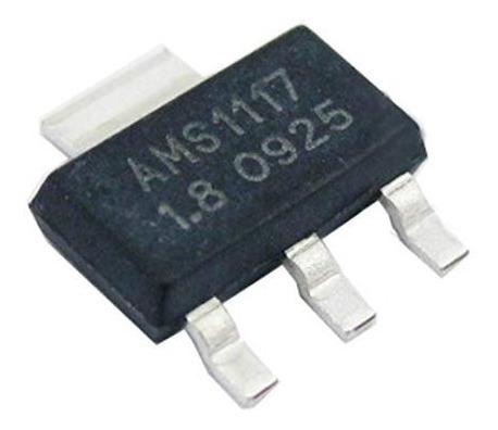 Kit Com 10 Ci Regulador Ams1117 1.8v As1117 Frete Ja Incluso