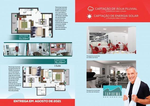 Apartamento Para Venda Em Peruíbe, Centro, 1 Dormitório, 1 Banheiro, 1 Vaga - 2899_2-1007247