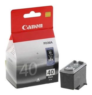 Cartucho De Tinta Canon Pg-40 Negro
