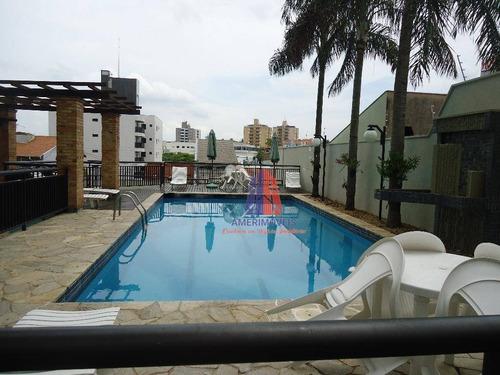 Apartamento Com 3 Dormitórios À Venda, 142 M² Por R$ 850.000 - Ed. Piratininga - Americana/sp - Ap0275