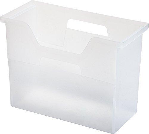 Imagen 1 de 7 de Iris Caja De Archivos De Escritorio, Plastico, Transparente.