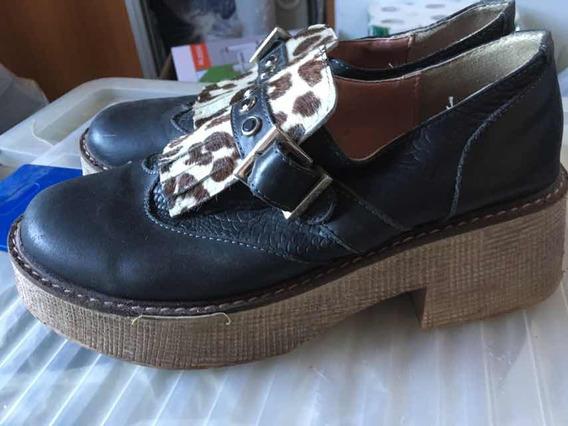 Zapatos Mujer Nro 40 Marca Heyas - Usados