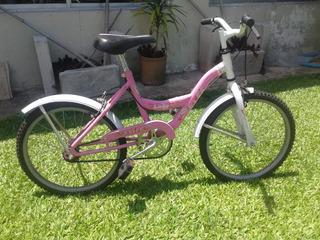 Bicicleta Rodaber 5000 Rodado 20 Niña