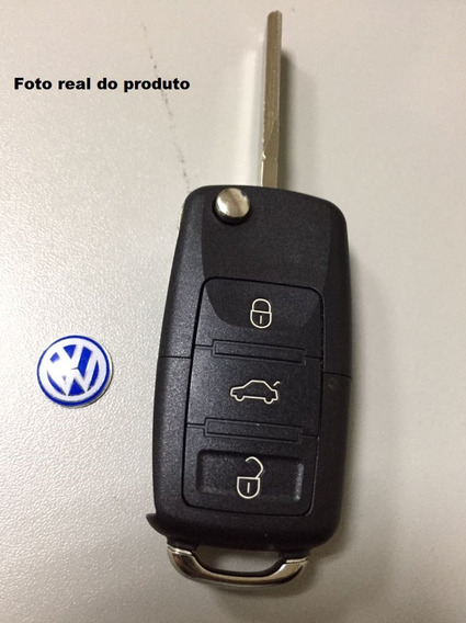 Carcaça Chave Canivete Vw Gol, Polo, Fox, Voyage, Up E Golf