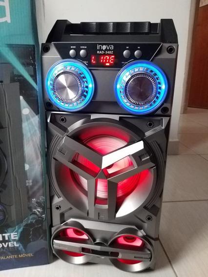 Caixa Amplificada Som Bluetooth Microfone
