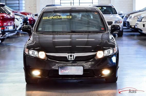 Honda Civic Lxs 1.8 Flex 140hp Blindado N1 Armura 77 Mil Km