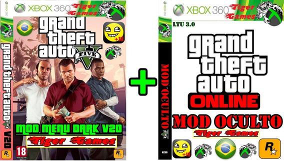 Gta 5 Mod Menu Dark V20 + Mod Oculto 2018 Xbox 360