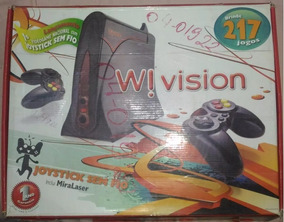 Wii Vision Na Caixa Usado Esse Modelo Nao Tem Mira Lazer