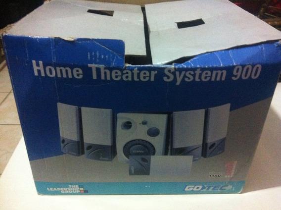 Home Teather Gotec System 900 Para Pc Com Placa De Som