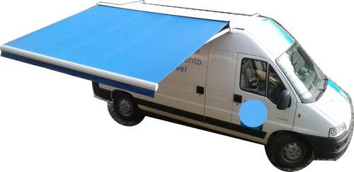 Toldos Articulados Para Veículos - Vans Manual E Elétrico