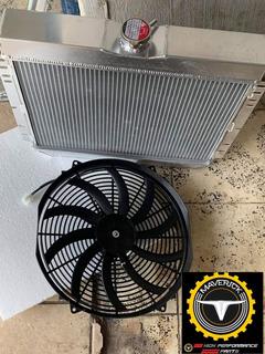 Radiador Con Ventilador Maverick 70-77 Mustang 67-690