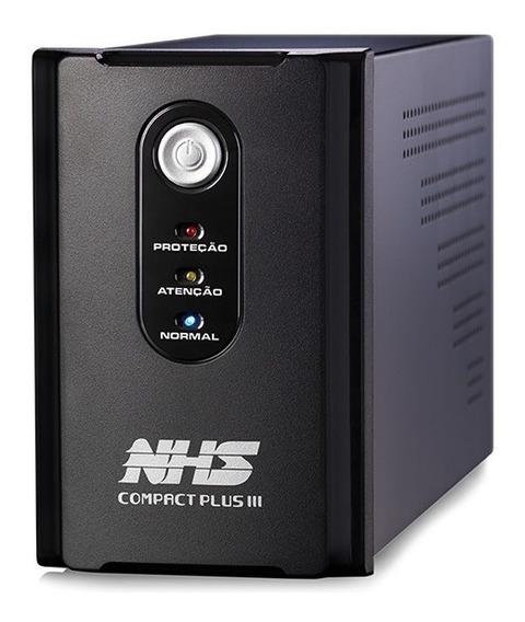 Nobreak Nhs Compact Plus Iii 1200va E. Bivolt S.120v Ou 220v