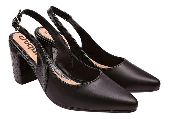 Scarpin Sapato Feminina Chiquiteira Chiqui/29062