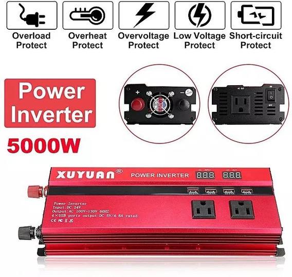 Inversor Xuyuan Red Pico 5000w 12v 110v 60hz Solar