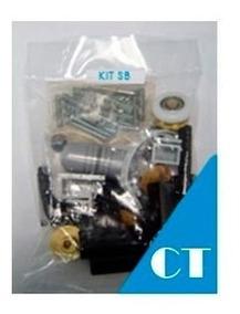 Kit Acessórios Para Box De Vidro Canto (2 Fixos / 2 Móveis)