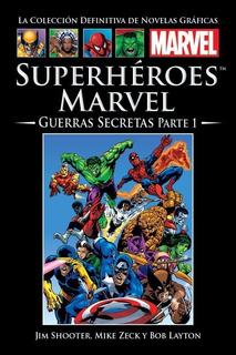 Superhéroes Marvel Guerras Secretas Parte 1 Cómic Marvel Salvat
