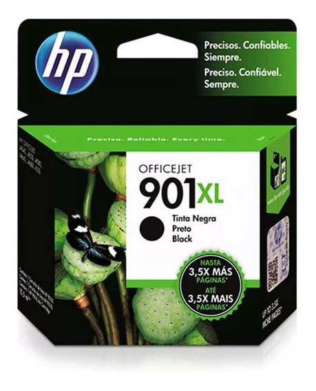 Cartucho Hp 901xl Preto 14ml - Cc654ab