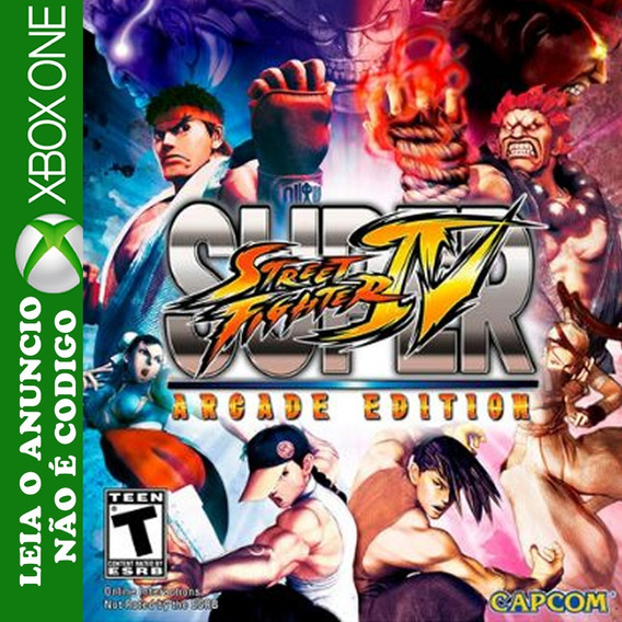 Super Street Fighter 4 Arcade Edition Xbox One Midia Digital