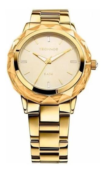Relógio Feminino Technos Analógico Fashion Swarovski 2035mcm