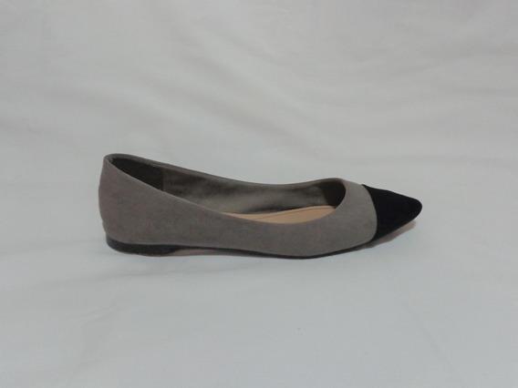 Flats Sfera Gris/negro 24 Zapato Piso