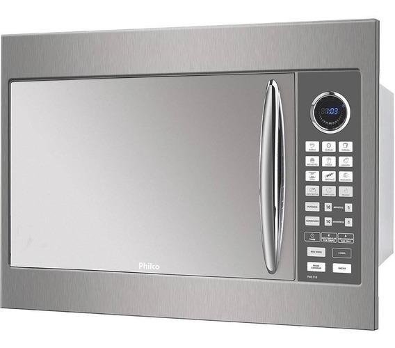 Microondas Philco PME31BM prata 30L 110V