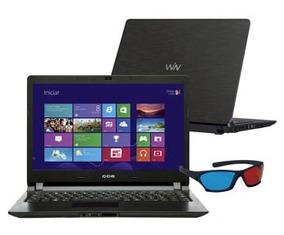 Notebook Cce Win Dual Core Hd 320 Gb Garantia Leia Mem 4 Gb