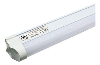 Tubo De Luz Led C/soport 18w 120cm Led Life Lh1756