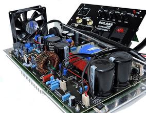 Painel Dclass Completo Ativação Caixa Sub Woofers 1500 Watts