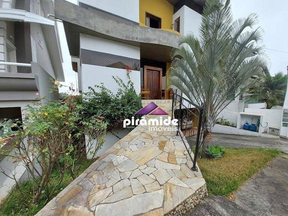 Casa Com 3 Dormitórios Para Alugar, 420 M² Por R$ 5.800,00/mês - Urbanova - São José Dos Campos/sp - Ca5523