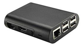 Case Raspberry Pi3 Pi2 Pi B+ Com 3 Dissipadores De Calor