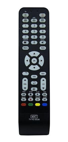 Controle Remoto Receptor Digital Oi Tv Hd Ses6 Mxt