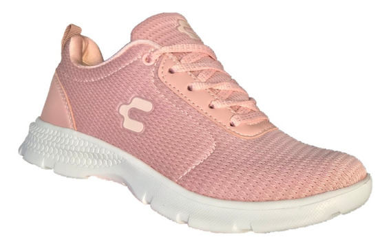 Tenis Charly Mujer 1049672 Rosa Textil Deportivo Running